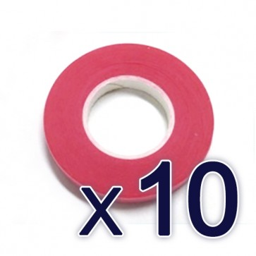 System tape red (T0.06mm)