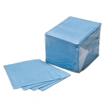 Blue waste cloth PRO (100pcs)